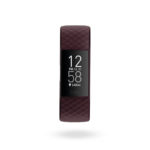 Product render of Fitbit Charge 4, front view, in Rosewood.
